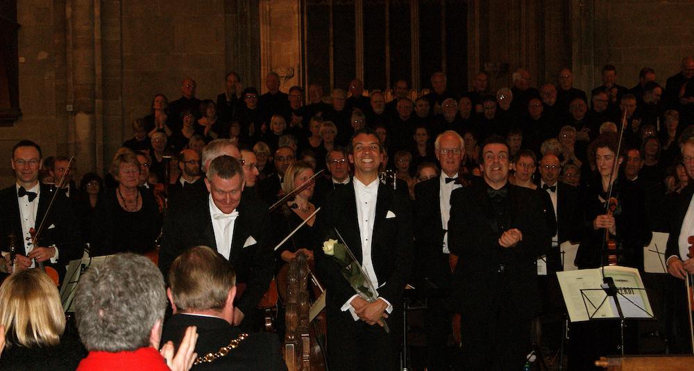 Roderick Williams and Richard Lloyd Owen, Verdi Requiem, 2014